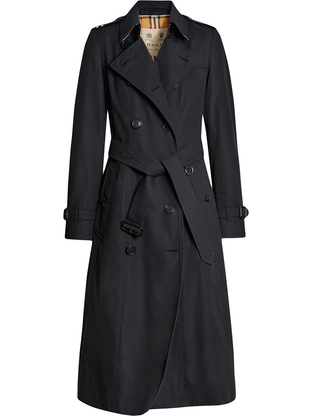 Palton dama, Burberry, The Long Chelsea Heritage, AW19 36 Albastru inchis