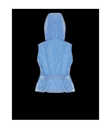 Moncler Suzy, Hooded, Padded Waistcoat
