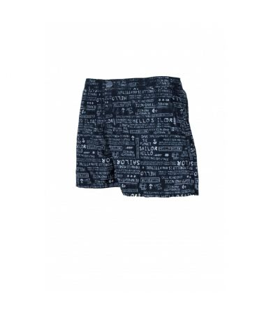 Frankie Morello, Swim Shorts, Hello Sailor Print