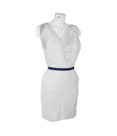 Frankie Morello Dress, Cotton, Silk waistband