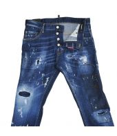 Dsquared2 Skater Jeans, Patched, Destroyed