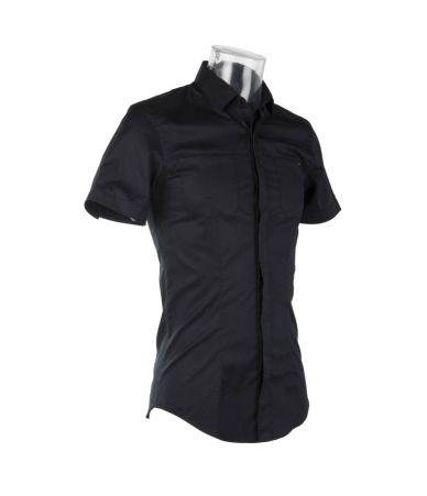 Frankie Morello, Polo T-Shirt, Black
