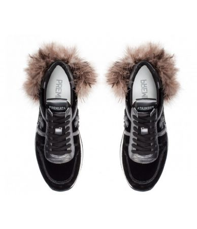Pantofi sport, Premiata Holly, adidasi cu pene strut