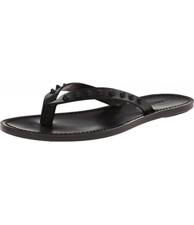 Dsquared2 Street Slides, Leather, Studded
