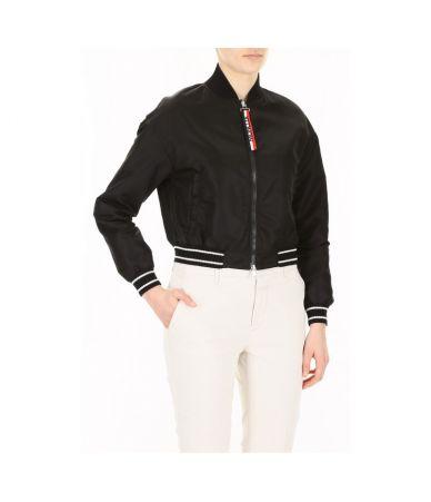 Moncler Actinote, Women's Satin Bomber Jacket