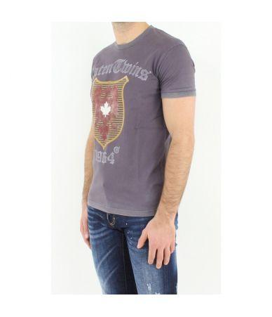 Dsquared2 T-Shirt, Print RTW Eagle, Caten Twins 1964