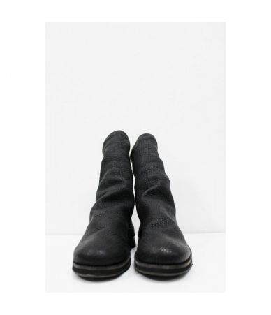 Cinzia Araia, Men's Rugged Boots, Zipped Leather