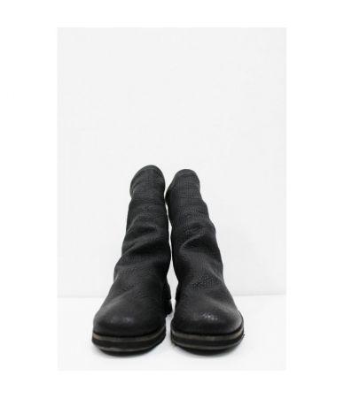 Cinzia Araia, Men's Rugged Boots, Zipped Leather