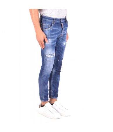 Dsquared2 Skater Jeans, Slim Fit, Destroyed, S71LB0490