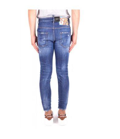 Dsquared2 Skater Jeans, Slim Fit, Destroyed, S71LB0490