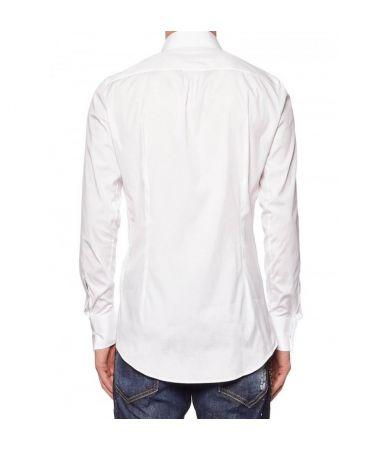 Camasa clasica, Dsquared2 Classic Shirt, guler cu agrafa