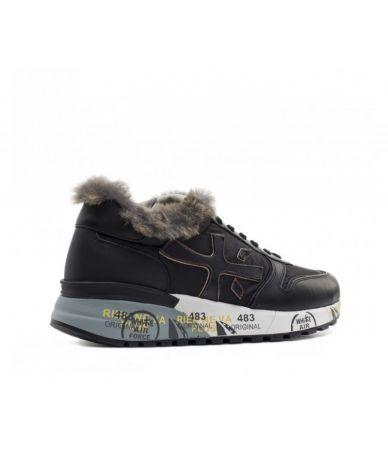 Premiata Sneakers, Mick VAR 3483, With Fur