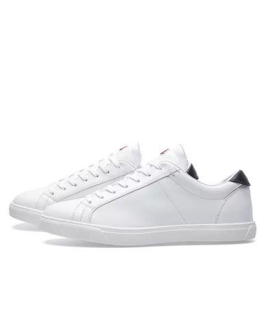 Moncler La Monaco Sneakers, White & navy