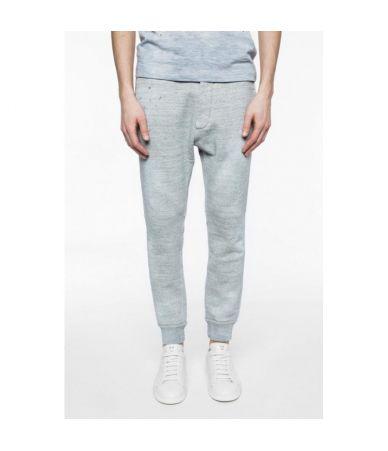 Pantaloni sport, Dsquared2, cu snur, patati, S71KA0995 S25148-858M