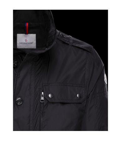 Moncler Cristian, Field Jacket, Rainwear fabric