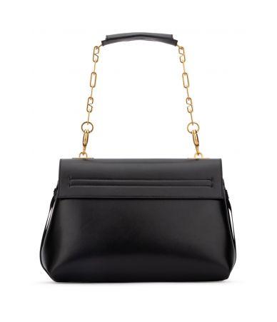 Valentino Garavani, Medium Vring Smooth Calfskin Shoulder Bag, RW0B0E13SEB 0NO