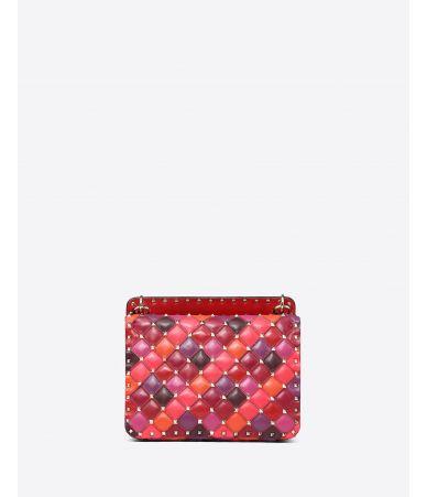 Valentino Garavani, Medium multicolour Rockstud Spike.it Bag, RW2B0122NMU IL1
