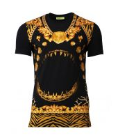 Versace Jeans, Baroque T-Shirt, Manarola, B2HPD7B4