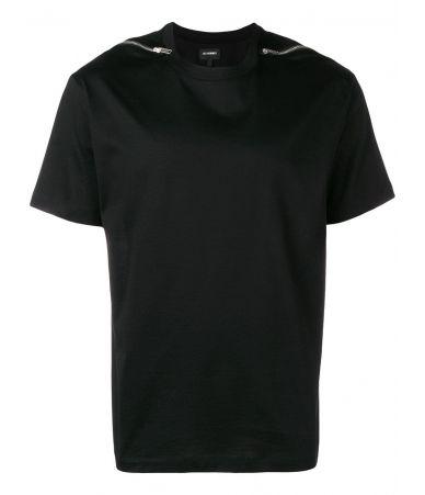 Tricou Les Hommes, fermoare umar, LHG802