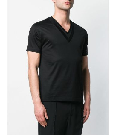 Les Hommes T-Shirt, Regular Fit, Double Collared, LHG631LG5009000