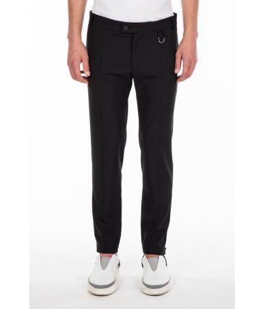 Casual pants, Les Hommes, Stitched Ribs, Belt on Hems, LHG405LG4009000