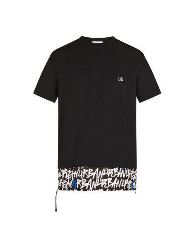 Les Hommes Urban T-Shirt, Urban Print, URG822AUG800D9147
