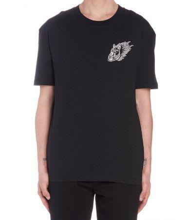Tricou barbat, Alexander McQueen McQ, Bunny Flame Print, 291571RMT59