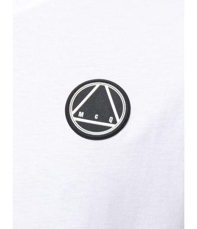 Alexander McQueen, McQ T-Shirt, McQ Logo Print, white, 291571RMT86