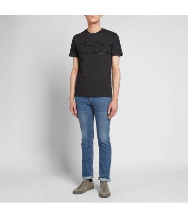Alexander McQueen, McQ T-Shirt, Gothic Logo Print, black, 277605RMJ78