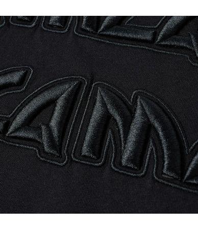 Tricou barbat, Alexander McQueen McQ, Gothic Logo Print, negru, 277605RMJ78