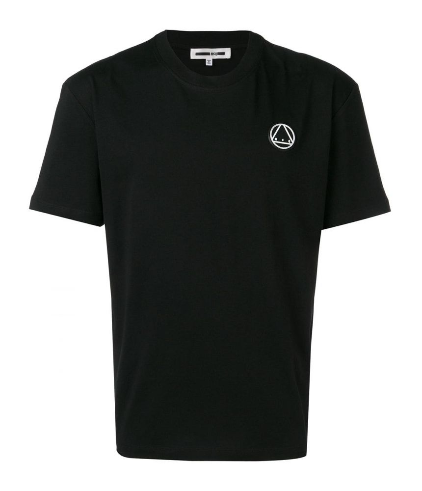 Tricou barbat, Alexander McQueen McQ, McQ Print, negru, 291571RMT86