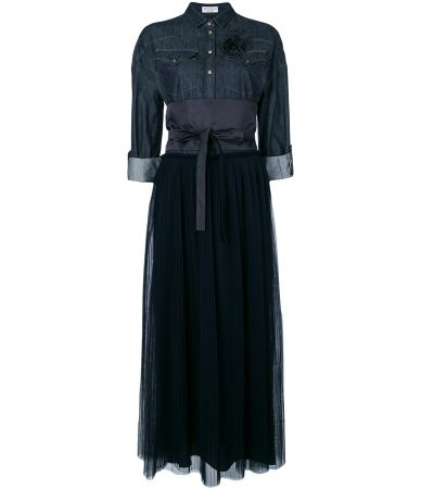 Brunello Cucinelli, Denim Long Dress, M0H75AR333