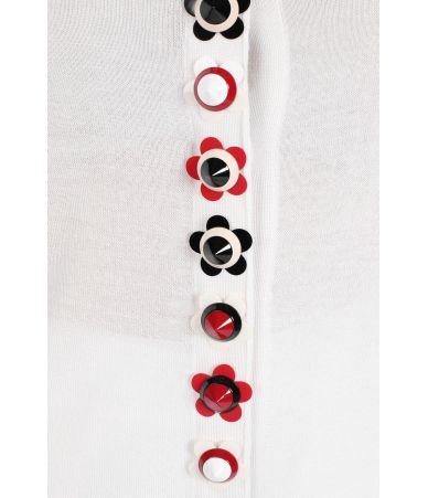 Cardigan casmir, Fendi, Studded Silk, FZC563 O3R F0ZNM