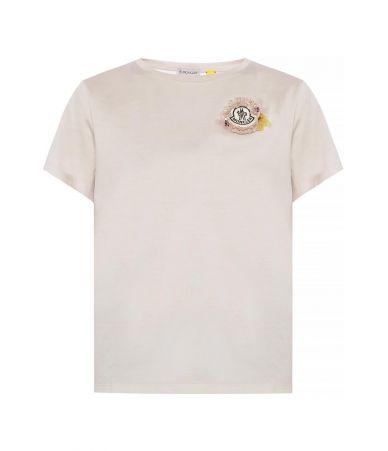 Moncler Genius T-Shirt, Simone Rocha, pink, E109W8052500 V8030-528