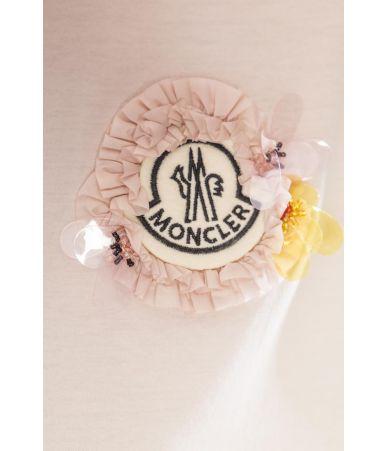 Tricou Moncler Genius, Simone Rocha, roz, E109W8052500 V8030-528