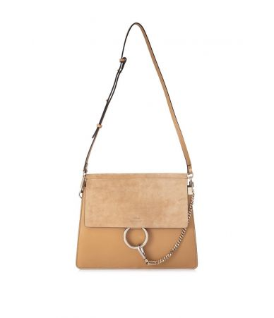 Chloe Faye Bag, Bleached Brown, CHC17SS231H2O218