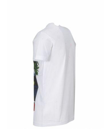Dsquared2 T-Shirt, Vintage 1964 Print, SS19, S71GD0743 S22427