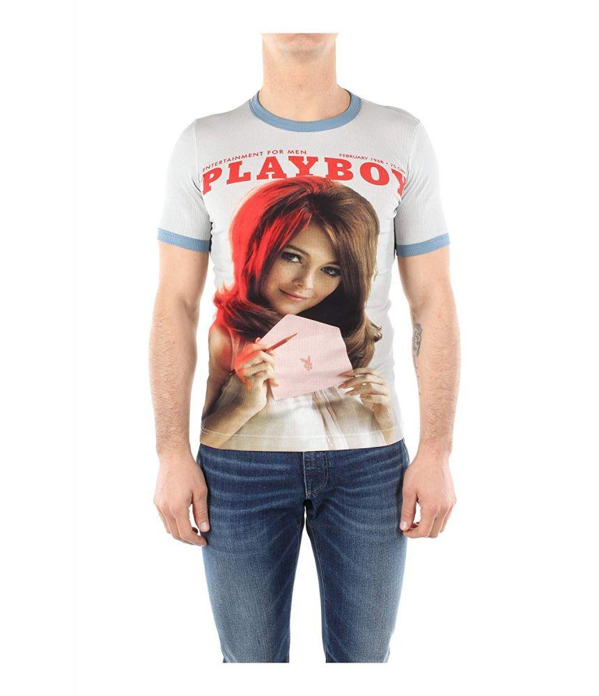 Dolce & Gabbana T-Shirt, Playboy Print, G8EQ5T G7CEA S9000