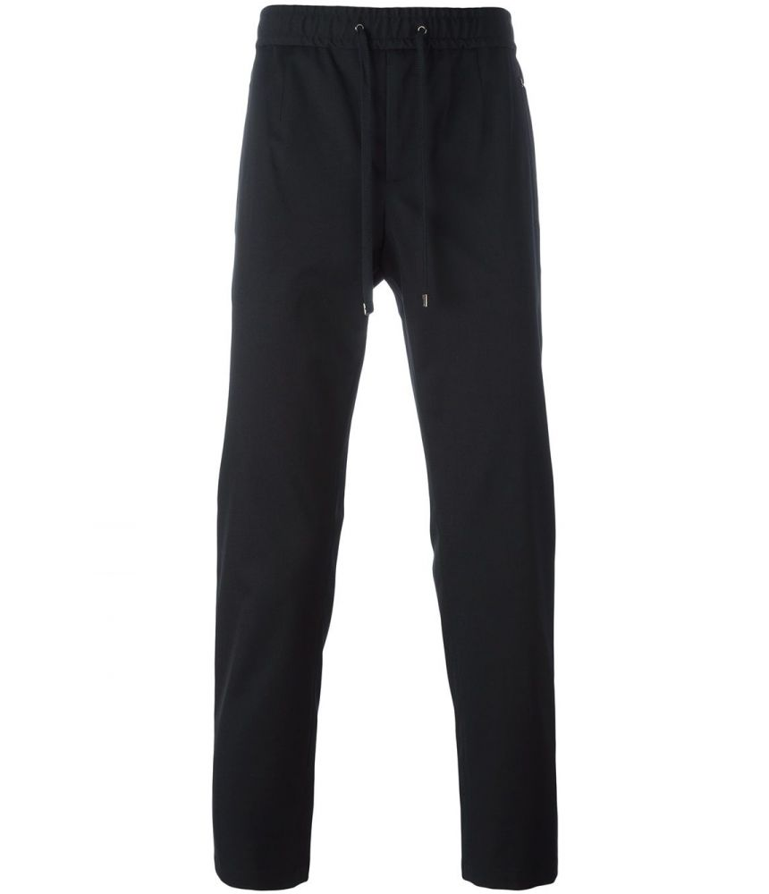 Dolce and Gabbana, Slim Fit Drawstring Trousers, G6OZET FUCDI