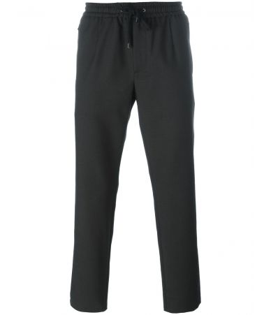 Dolce and Gabbana, Drawstring Trousers, Loose Fit, Zipped pockets, G6OZET FMMEJ