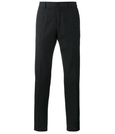 Dolce and Gabbana, Straight Leg, Dot Stitch Trousers, G6OJET FM6BJ