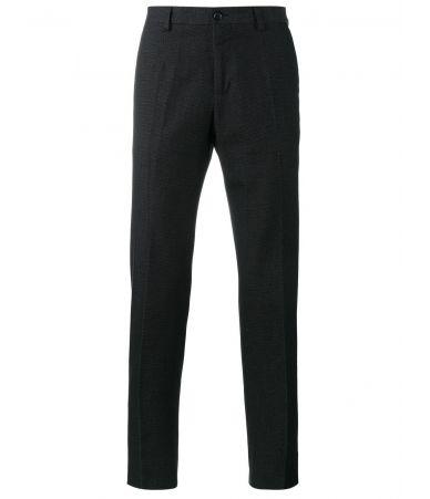 Dolce and Gabbana, Straight Leg, Dot Stitch Trousers, G6OJET FM6BJ