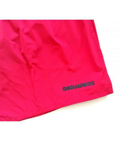 Dsquared2 Swim Shorts, Icon Print, Red, D7B642380402