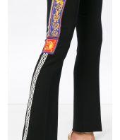 Pantaloni evazati, Versace, Pillow Talk Tape, Baroc Print, A80580 A219388