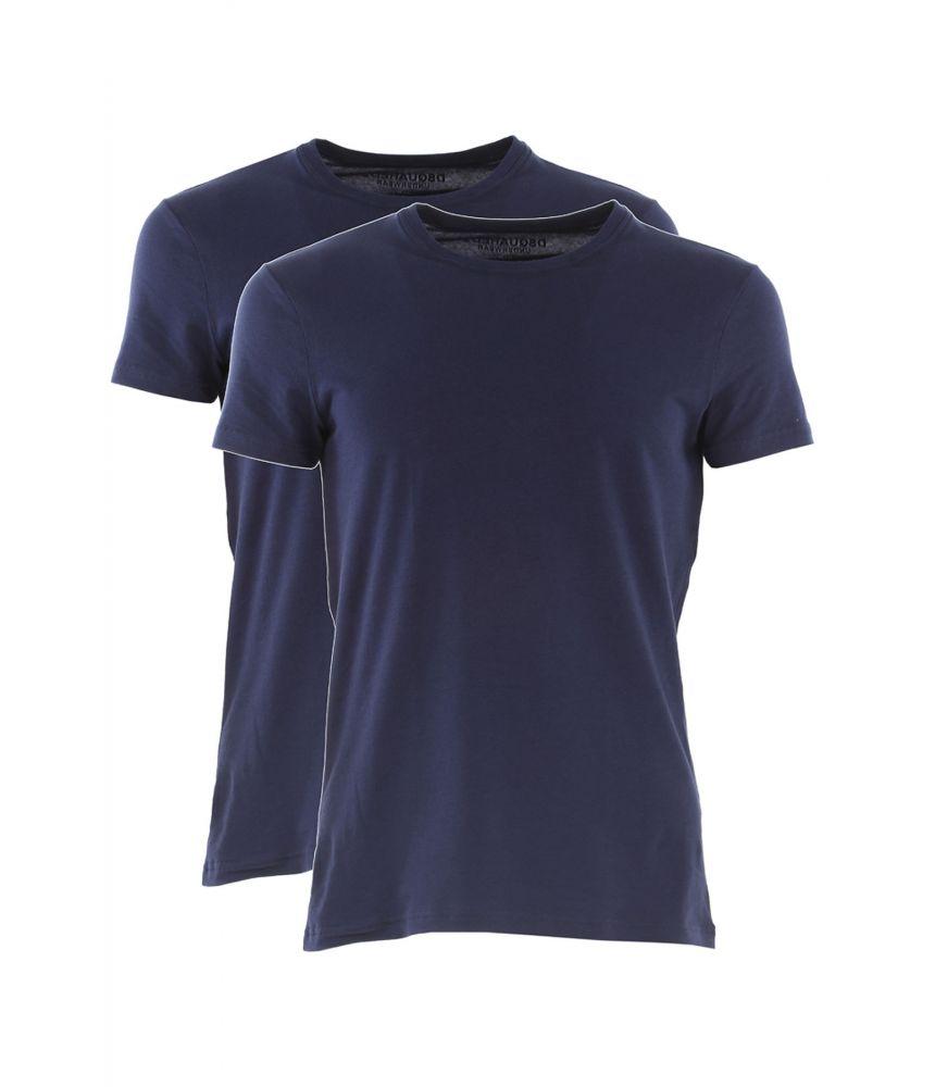 Tricou Dsquared2, pachet, slim fit, bumbac, DCX410020300
