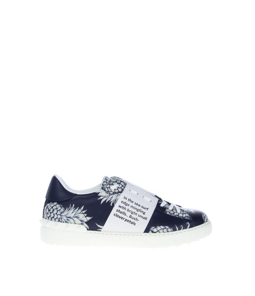 Pantofi sport Valentino, Open Sneaker, Ananas Print, KY0S0830ANV252