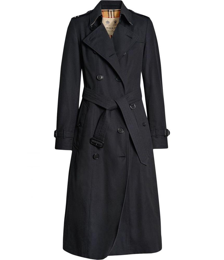 Palton dama, Burberry, The Long Chelsea Heritage, AW19, 40733791002