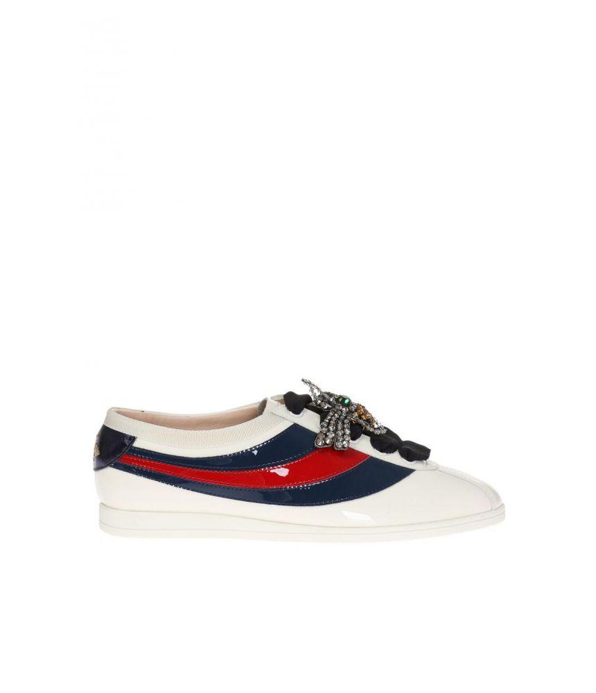 Pantofi sport dama, Gucci Falacer, Spider Web, 493694 BS7Y0-9066
