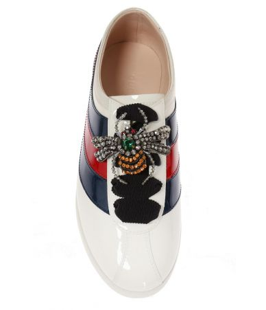 Gucci Falacer, Spider Web, Women's Sneakers, 493694 BS7Y0-9066