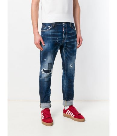 Dsquared2 Cool Guy, Dark Patch, Denim Jeans, S74LB0435 S30342